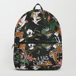 Leopards at night Backpack