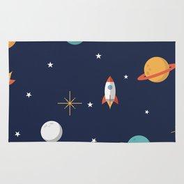 Space Pattern Rug