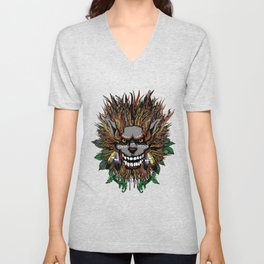 Big Chief Wolfenfreak  Unisex V-Neck