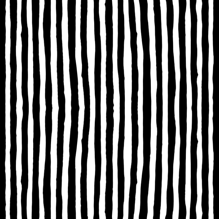 Black And White Vertical Stripes Comforters By