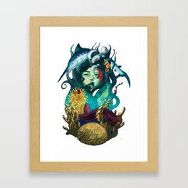 Deep Concious Framed Art Print