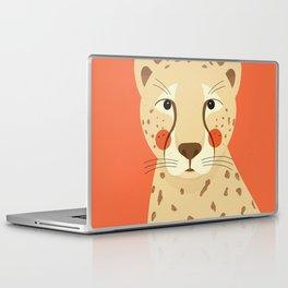Cheetah, Animal Portrait Laptop & iPad Skin