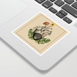 Elephant Heart Sticker