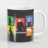 guardians Mugs featuring Guardians by PeterParkerPA