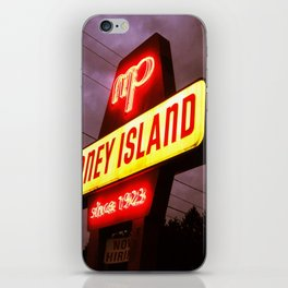 Small Town Coney Island iPhone Skin