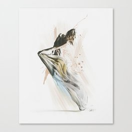 Drift Contemporary Dance Canvas Print