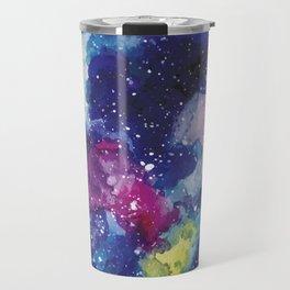 Galaxy Watercolor Travel Mug