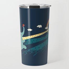 Pole Vault Travel Mug