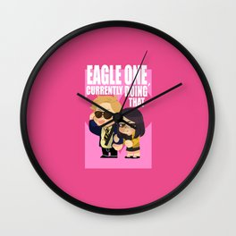 eagle one Wall Clock