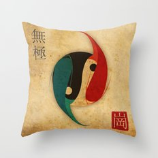 The Infinity Fish Throw Pillow