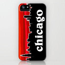 Chicago Cityscape iPhone Case