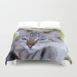 Ready for my close up Duvet Cover