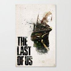 THE LAST OF US ELLIE  Canvas Print