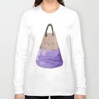 tote bag Long Sleeve T-shirts featuring Tote 2 by ©valourine