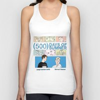 500 days of summer Tank Tops featuring 500 Days of Sumner by StellaDays