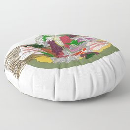Gorgeous Sashimi Set from Mr Sasaki Floor Pillow
