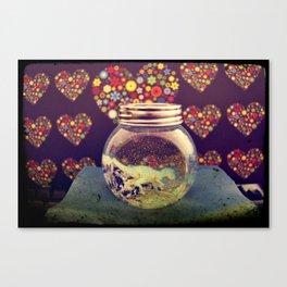 Snowball Canvas Print