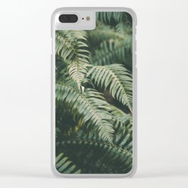 Ferns V Clear iPhone Case