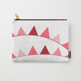 Red berry Pennant Banner Carry-All Pouch
