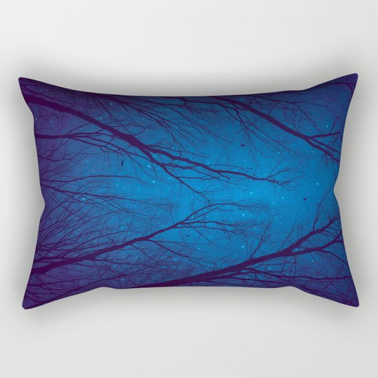 I Have Loved the Stars too Fondly Rectangular Pillow