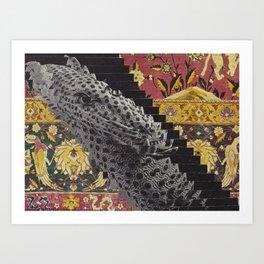 Elongated Art Print