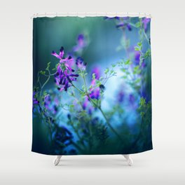 Forest Echoes Shower Curtain