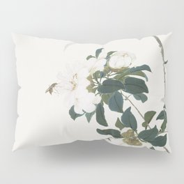 Insects and Flowers (Qing dynasty ca 1644-1911) by Ju Lian Pillow Sham
