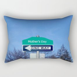 Mother's Day funny design with signpost Rectangular Pillow