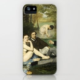 Édouard Manet - Luncheon on the Grass iPhone Case
