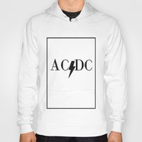 acdc Hoodies featuring Classy Rockers by blairartisan