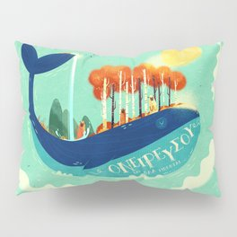 :::Tall Tree Whale::: Pillow Sham