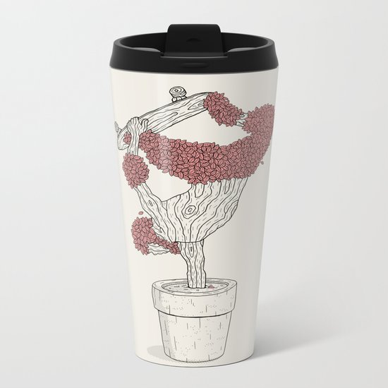 Handplant Metal Travel Mug