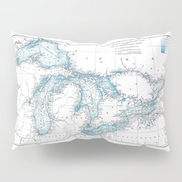 The Great Lakes Pillow Sham