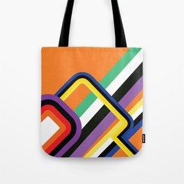 60s Geometric Shapes Tote Bag