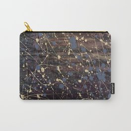 New York. Graffiti, Abstract, Blue, Purple, Pollack, Jodilynpaintings, Splatter Carry-All Pouch