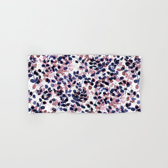 Synergy Indigo Hand & Bath Towel