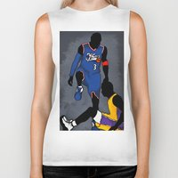 lakers Biker Tanks featuring The Step Over by nissa
