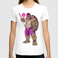 ninja turtle T-shirts featuring Hulk Ninja Turtle by Mike Wrobel