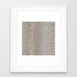 Antelope Fawn Print Framed Art Print