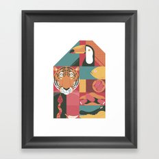 Zoo Framed Art Print