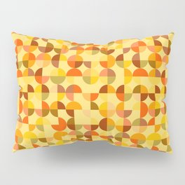 Abstract geometric background Pillow Sham