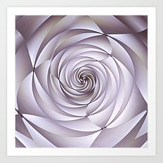 Abstract Rose Art Print