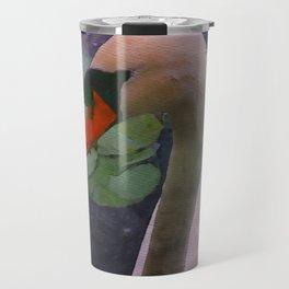 Mute Swan - Water Color Travel Mug