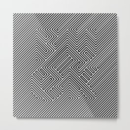 F**K maze Metal Print