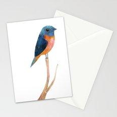 Blue-Fronted Redstart Stationery Cards