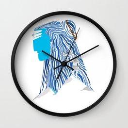 Shiva e Destroyer Wall Clock