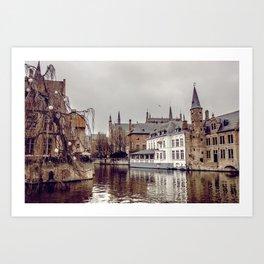 Brugges, Belgium Art Print