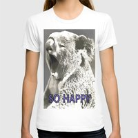 koala T-shirts featuring Koala  by PureVintageLove