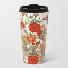 Vintage Garden 10 (Sunset Beauty) Metal Travel Mug