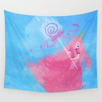 science Wall Tapestries featuring Science! by Melissa Smith